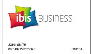 AccorHotels apresentam o ibis Business Card