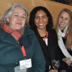 Ana Maria Moreschi, da Schultz, Carolina Virgolino, da TT Operadora, e Camila Holler, da Socaltur