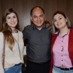 Bianca Oliveira, Sandro e Andressa Ribeiro, da GO By Tur