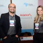 Bruno Yasumura e Joelma Martins, da Avianca