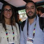 Carolina Siqueira e André Vasconcelos, da GW Travel