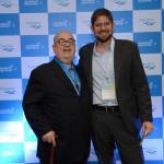Cassulino, da Ancoradouro, e Gonzalo Romero, da Aerolíneas Argentinas