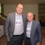Cesar Nunes, da Atrio Hotels, e Manuel Gama, do FOHB