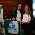 Karen Alves, da Edvaldo Moreira Turismo, e Mari Masgrau, do M&E