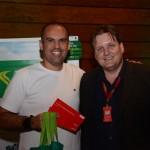 Renato Penna, da Penna Viagens, e Ronaldo Ribeiro, da Avianca