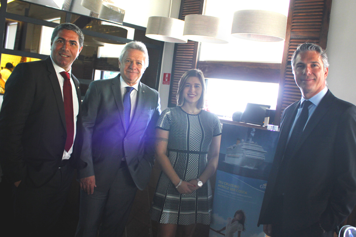 Dario Rustico, Rene Hermann, Cintia Peloso e Alex Calabria