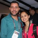 Dias Silva e Larissa Sousa, da TGK Travel