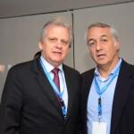 Edmar Bull, presidente da Abav Nacional, e Sylvio Ferraz, da MMTGapnet