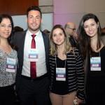 Fabiana Catto, Ricardo Galvão, Débora Carvalheira e Rafaela Biondo, da Atlantica Hotels