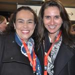 Fernanda Maldonado, do Turismo da Suíça, e Ilana Finkelstein, da Mercatur