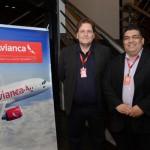 Filipe Rodrigues e Joilson Lima Soares, da Avianca