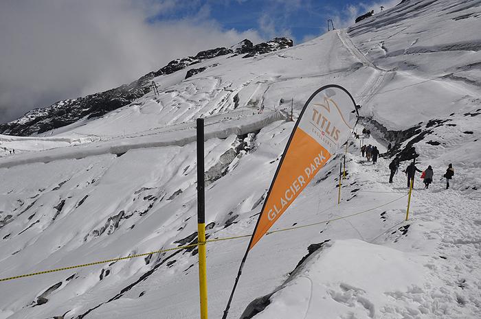 Glaciar Park, em Titlis, Engelberg
