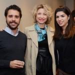 Jean-Bruno Gillot, Caroline Putnoki, e Fernanda Sarubbi, da Martinica