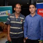 Josias Campos e Marcos Vinicius, da Josias Turismo
