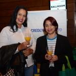 Karen Alves e Cleice Motta, da Edvaldo Moreira Turismo