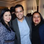 Kelly Barreto, Laudeilson Soares, e Adriana Silva, da  RA Viagens