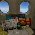 Kit de amenidades, distribuídos aos passageiros