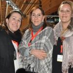 Lorenza Fonseca, da FVO, Meg Raimonod, da Sete Mares, e Priscilla Carvalho, da Queenberry