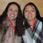 Luciana Dutra, da Matueté, e Cristina Ogasawara, da Interpoint