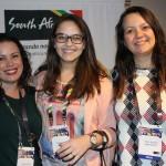 Luiza Cavalli, Beatriz Dantas e Thaís Baladei, da Queensberry
