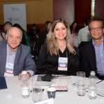 Manuel Gama e Anelise Longo, do FOHB, e Paulo Salvador