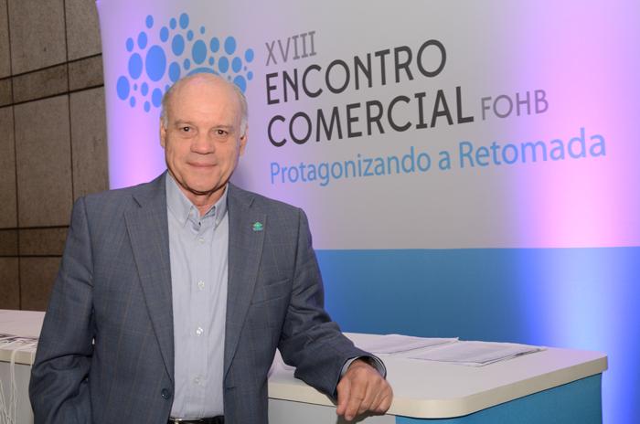 Manuel Gama, presidente do FOHB