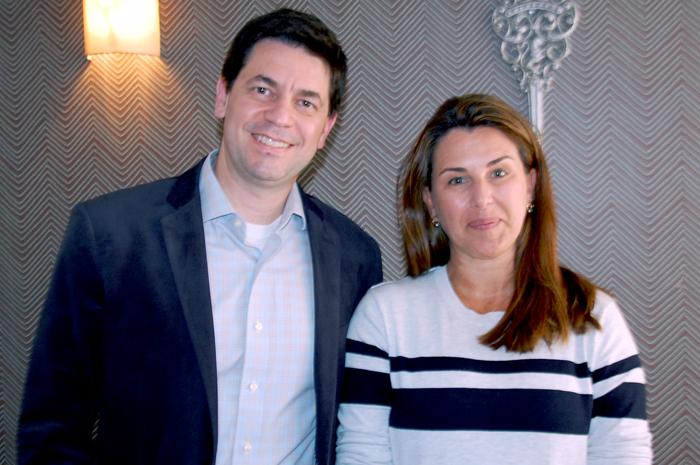 Marcelo Dezem e Cristina Bonello, diretor-executivo e gerente Comercial de Franquias da Latam Travel Brasil