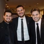 Mario borges, Marcio Genaro e Rafael Sacomani, da MSC Cruzeiros