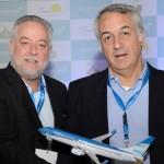 Michael Barkoczy, presidente da Flytour Viagens, e Sylvio Ferraz,  da MMTGapnet