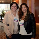 Monika Borges, da B&B Hotels, e Tatiana Costa, da BHG