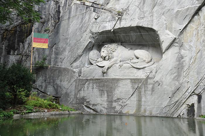 Monumento do Leão, em Lucerna