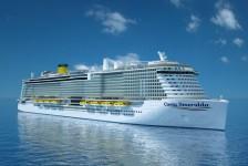 Costa Cruzeiros anuncia seu primeiro transatlântico a GNL, o Smeralda