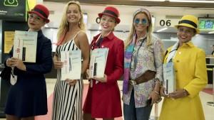 Passeiros receberam diploma de viajantes no tempo