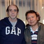 Pedro miracca, da P.A.M. Turismo, e Lui, da Wei Wei Viagens