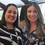 Renata Amorin, da Agaxtur, e Carolina Oricchio, da SAA
