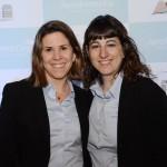 Rocio ibarra e Gisela Marino, da Aerolíneas Argentinas