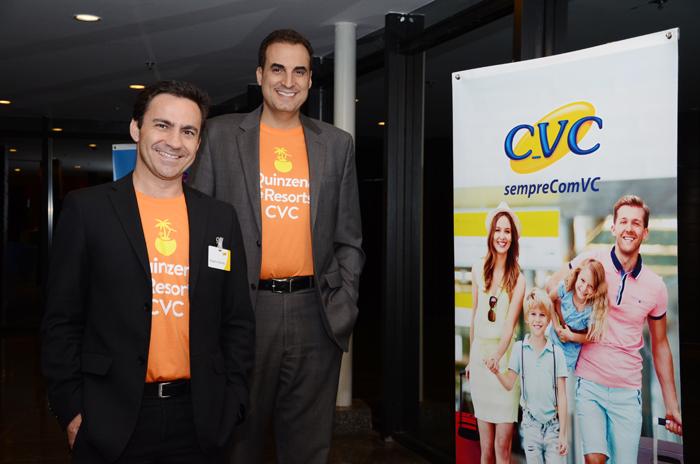 Rogerio Mendes e Cláudio Vila Nova, da CVC