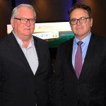 Roy Taylor, do M&E, e Vinicius Lummertz, presidente da Embratur