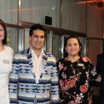 Sheila Muleler, João Annibale, Ana Paula Donega e  Francesco  Ferraro, equipe da Leading Hotels