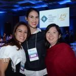 Silene Coelho, Jennifer Meunier e Claudia Marubayashi, da Accor Hotéis
