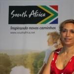 Tati Isler, representante do órgão de promoção turística da África do Sul para o Brasil