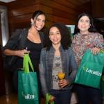 Thais Lima, Lorene Pieta e Camila Mattar, da Alphatur