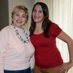 Vera Regina, da Sky Sea Travel, e Cátia Alexsandra Guedes, consultora de Viagens