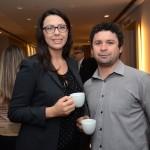 Viviane e Chobs Ferreira, da Wembley Viagens