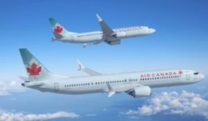 Air Canada escala B737 MAXs em voos internacionais transatlânticos