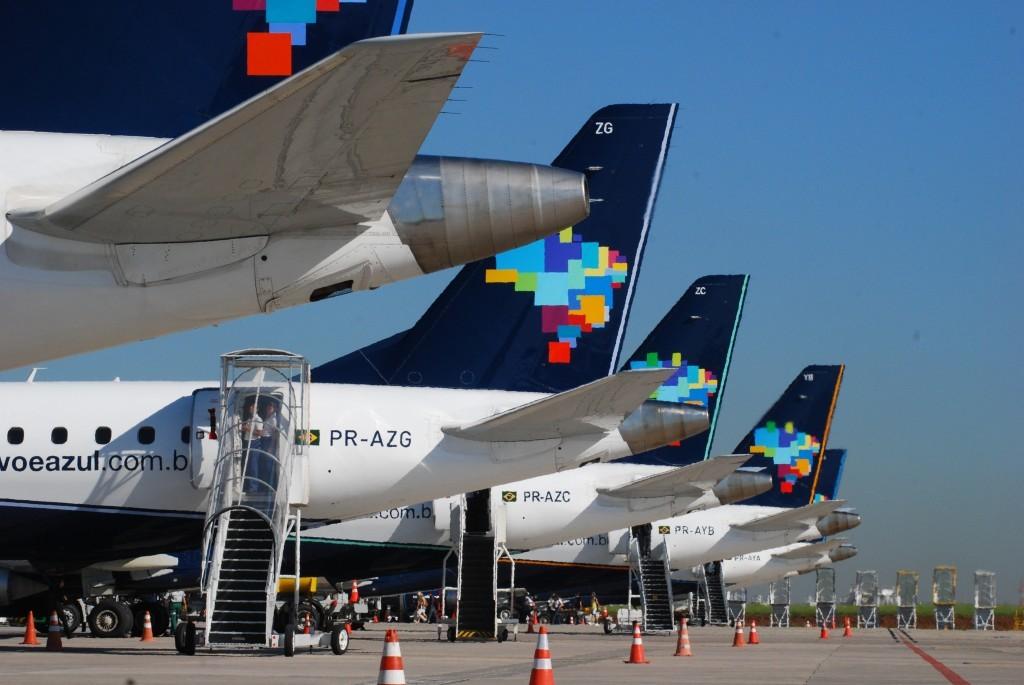 Azul é apontada companhia aérea com check-in mais eficiente