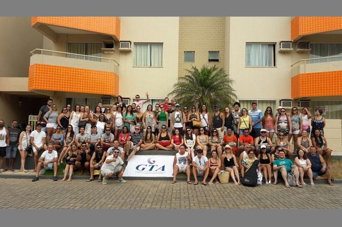 Os profissionais tiveram uma palestra sobre a importância do seguro viagem e ainda tiveram quatro dias de estadia no resort (Foto: Divulgação)