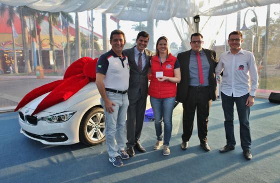 Rogério Siqueira, Fabian Londero, Fabiola Schneider, Cristian da Silva e Gilliard de Oliveira
