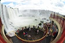 Foz do Iguaçu tem crescimento de 16,23% no movimento de turistas