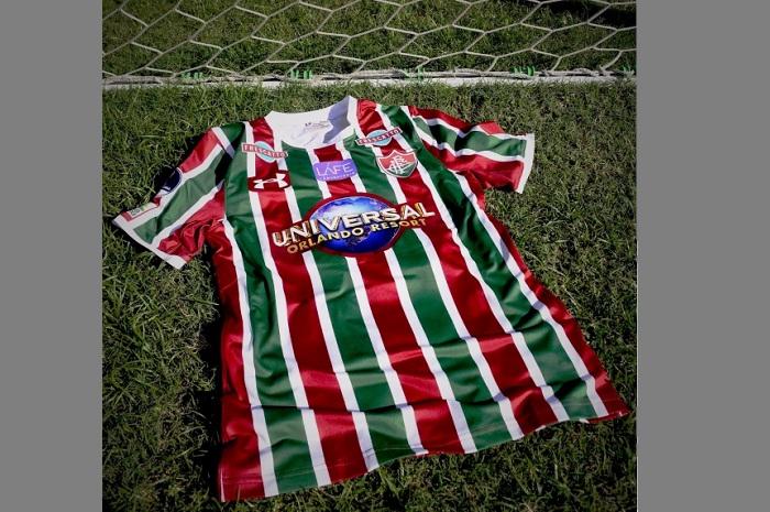 9deb895624 Os valores do novo acordo pontual de patrocínio não foram divulgados (Foto   Fluminense FC